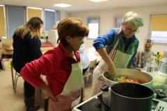 marmites et marmitons pour le téléthon 2015 à Meythet